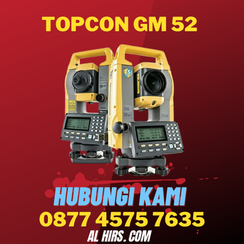 Total Station Topcon GM 52